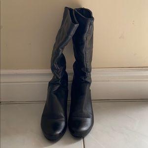 Womens tall heel boots